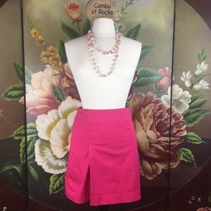 Banana Republic Stretch Pink Skirt